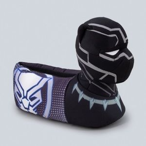 Boys' Black Panther Bootie Slipper
